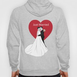 Just Married Hoody
