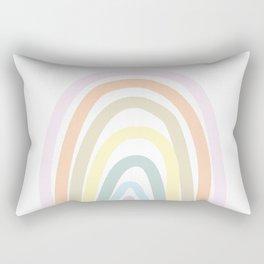 my own pastel rainbow Rectangular Pillow