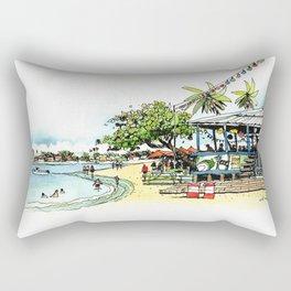 Calico Jack's, Grand Cayman (no notes) Rectangular Pillow