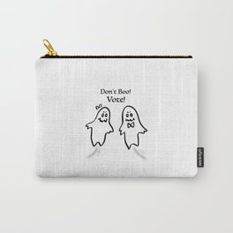 Don't Boo! Vote! Carry-All Pouch