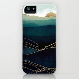 Indigo Waters iPhone Case