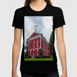 Iron County Courthouse in Ironton, Missouri T-shirt