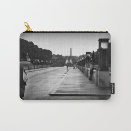 Vigeland Park in the Rain Carry-All Pouch