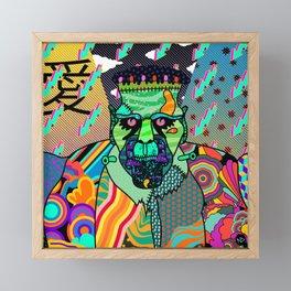 Frank Psychedelic Framed Mini Art Print
