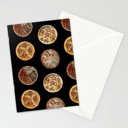 65 MCMLXV Pizza Polka Dot Pattern Stationery Cards