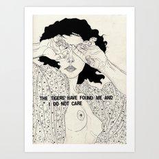 Hide And Seek Art Print