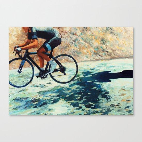 Creeping Shadow Canvas Print
