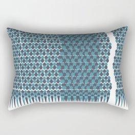 Cubist Ornament Pattern Rectangular Pillow