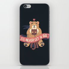 Ill Never Let You Go Bear Love Cat iPhone & iPod Skin