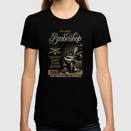Gentlemen's Barber Shop LA T-shirt
