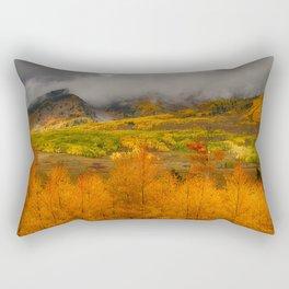 Colorado Fall Colors Rectangular Pillow