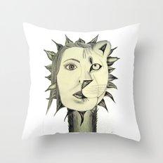 Sun Warrior Throw Pillow