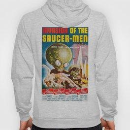 Invasion of the SaucerMen, Horror Movie Vintage Poster Hoody