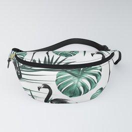 Tropical Flamingo Pattern #6 #tropical #decor #art #society6 Fanny Pack