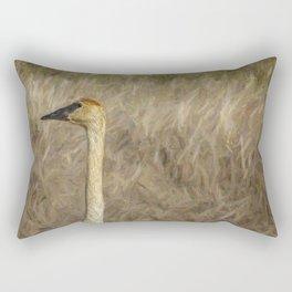 The Trumpeter Swan Rectangular Pillow