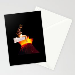 Foot into Danger Stationery Cards