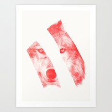 Red by Eric Fan & Garima Dhawan Art Print