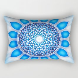 Throat Chakra Rectangular Pillow