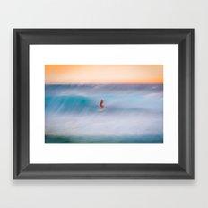Sunset Rider Framed Art Print