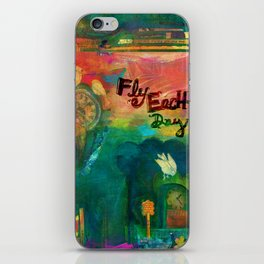 Fly Each Day iPhone Skin