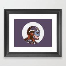 Headgear: ATOM Framed Art Print