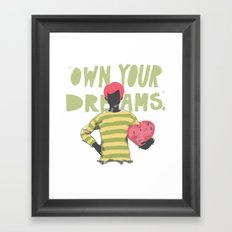 Ownership Framed Art Print