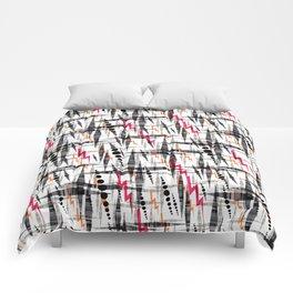 Stylish geometry. Comforters