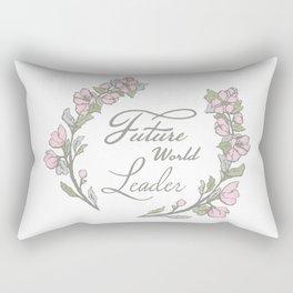 Future World Leader Rectangular Pillow