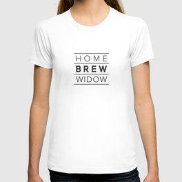 Homebrew Widow (Black) T-shirt