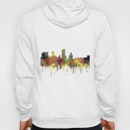 Fort Worth, Texas Skyline SG - Safari Buff Hoody