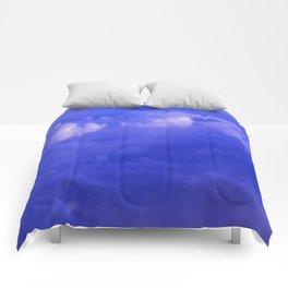 Aerial Blue Hues II Comforters