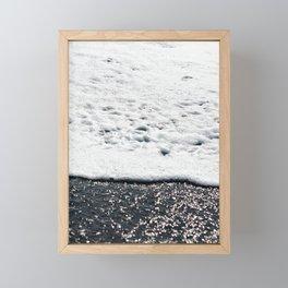 Ocean shore Framed Mini Art Print