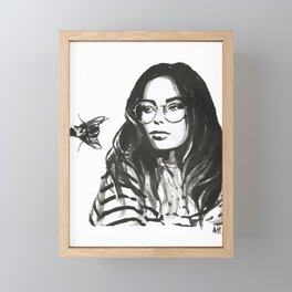 Fly Framed Mini Art Print