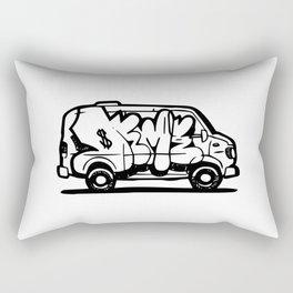 Deme 5 Graffiti Van Rectangular Pillow
