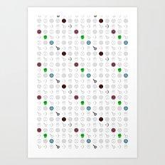 six mousquetaires Art Print