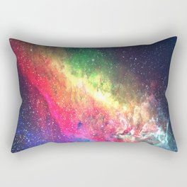 Space Nebula - Interstellar Dust Rectangular Pillow