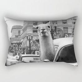 Tourist Rectangular Pillow
