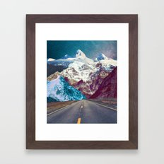 The Last Stretch Framed Art Print