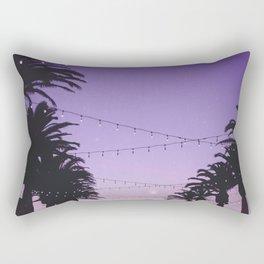 Tropical Summer Night Rectangular Pillow
