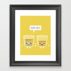 You're Neat! Framed Art Print