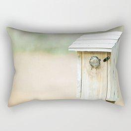 Hello New World Rectangular Pillow