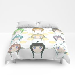 Daughter to Dragons Comforters