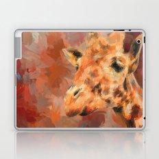 Long Necked Friend Giraffe Art Laptop & iPad Skin