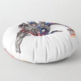 Trans Former Floor Pillow