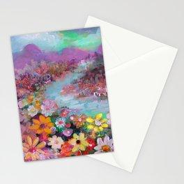 lovely landscape Stationery Cards