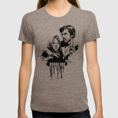 Fandom Inked » Rogue One SMALL Womens Fitted Tee Tri-Coffee