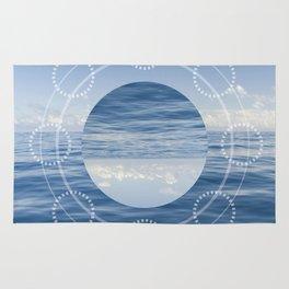 Reflected Ocean Sacred Geometry Rug
