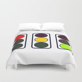 Traffic Lights Duvet Cover