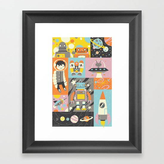 Give Us Space Framed Art Print