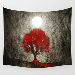 Red autumn. Wall Tapestry